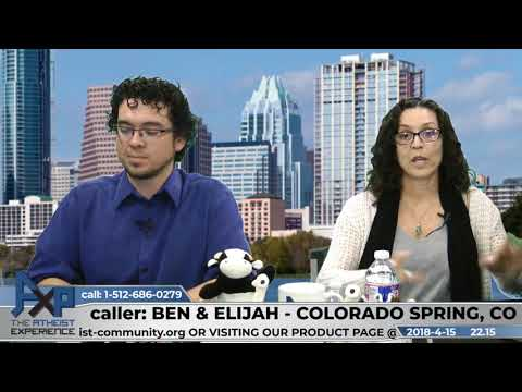Questions About Atheism | Ben & Elijah - Colorado Springs, CO | Atheist Experience 22.15