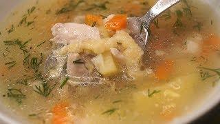 Суп который, Обрадует всю семью! Крестьянская Затирка.