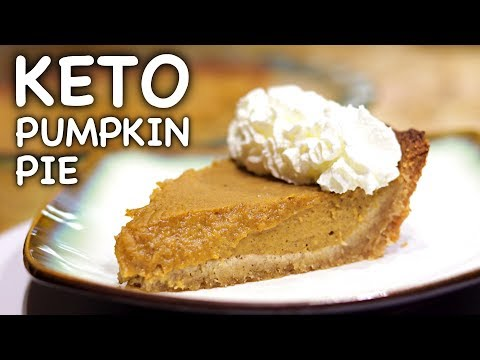 Keto Low Carb Pumpkin Pie Recipe | Keto Daily