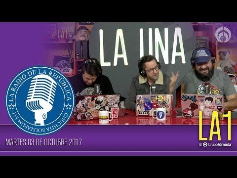 #LA1 - Martes de Noticias y Buchonas - La Radio de la República - @ChumelTorres