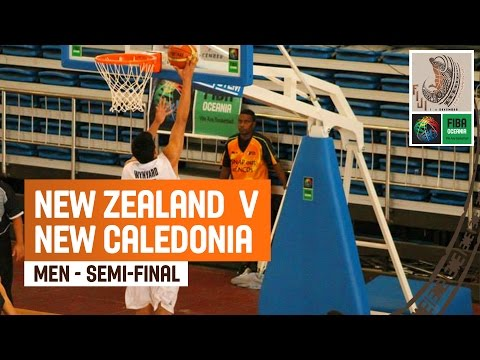 New Zealand - New Caledonia (Men) - Semi-Final - Full Game - 2014 FIBA Oceania U19 Championship