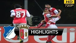 SC Braga vs Hoffenheim 3-1 - extended Highlights & All Goals (uefa europa league) 23/11/ 2017 HD
