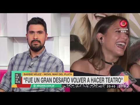 Barbie Velez comenta el explosivo romance de Nazarena