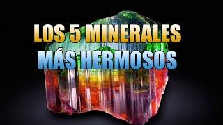 LOS 5 MINERALES MÁS RAROS Y HERMOSOS.