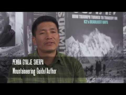 The Summit Book Interview with Pemba Gyalje Sherpa