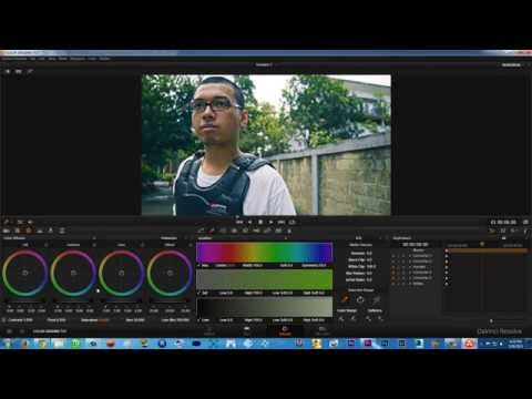 Tutorial Davinci Resolve Bahasa Indonesia (1) Color Correction & Color Grading, & Export Sebagai LUT