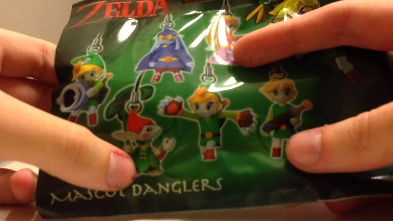 unboxing tloz minish cap phone charm blind box