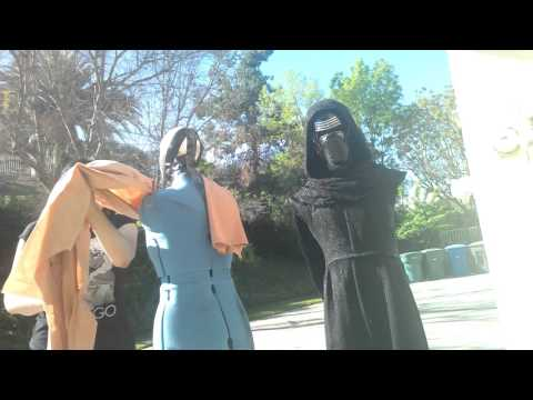 SL-13377 Updated CAPE AND SCARF Tutorial Kylo Ren Post Movie ***Video 1 of 2***