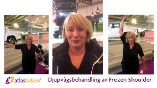 Djupvågsbehandling av Frozen Shoulder på Elmia Scandinavian horse Show