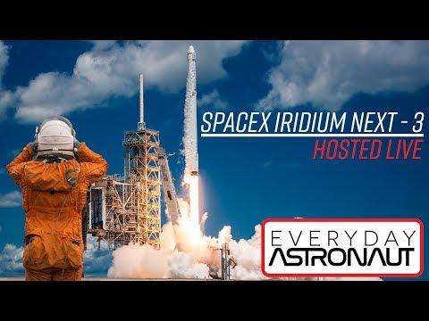 (Previously) LIVE Hosting SpaceX Iridium NEXT-3 launch