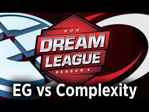 🔴 [Dota 2 LIVE EN ] EG vs Complexity live, DreamLeague 8 Live, @Boom TV Casters