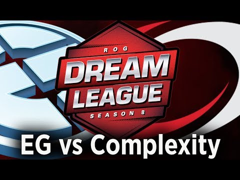 ? [Dota 2 LIVE EN ] EG vs Complexity live, DreamLeague Season 8 Live thumbnail