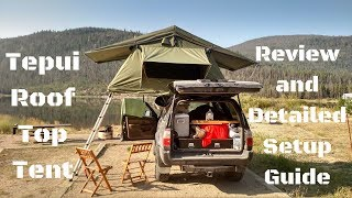 Tepui Tent Review and Detailed Setup Video, Part 1