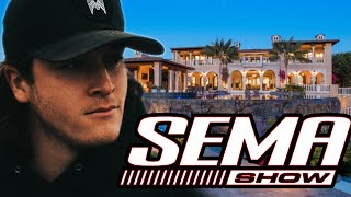 SEMA MANSION TOUR!!! Where do the diesel brothers stay in Vegas???