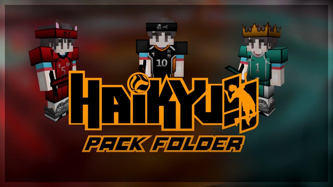 2021 Pack Bundle [ Haikyuu Minecraft Texture Packs ]