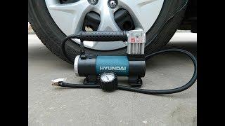 Автомобильный компрессор Hyundai HY 65 expert смотреть