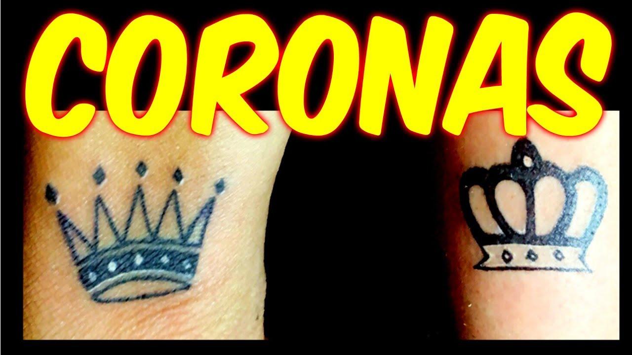 Tatuajes De Coronas Para Parejas En La Mano Rey Y Reina 2019