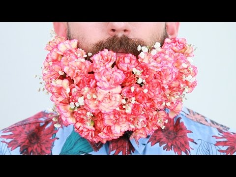 Sam Kelly - Men: Get your beards Valentine's ready with the BEARD BOUQUET