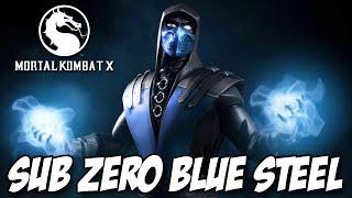 Mortal Kombat X - Sub Zero Blue Steel Roupa SECRETA
