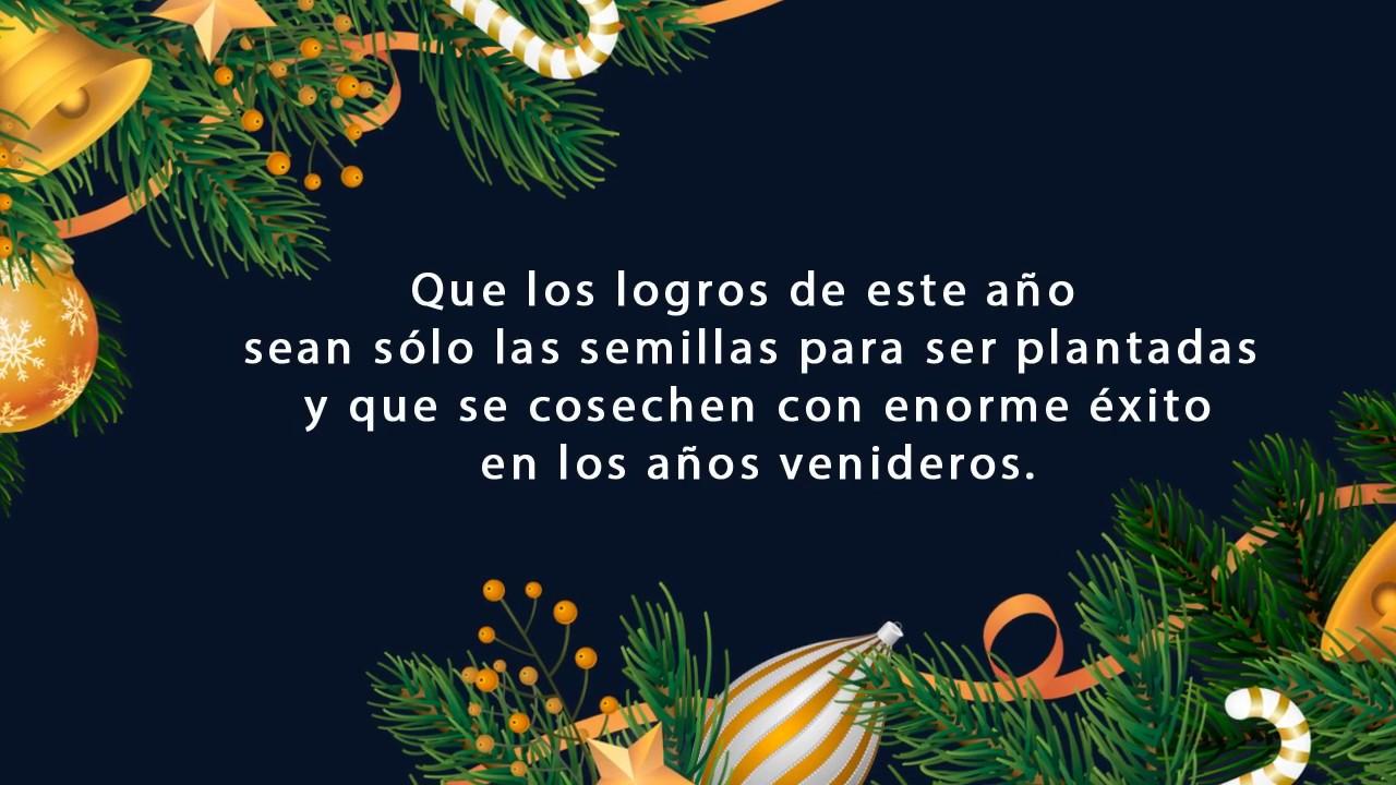 Feliz Navidad y Próspero Año Nuevo 2020 - YouTube
