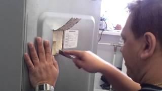 Вскрытие задней стенки холодильника SAMSUNG(, 2012-01-23T07:19:03.000Z)