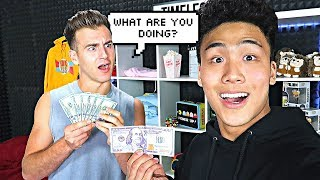 GIVING $100 TO WHOEVER SAYS MY NAME!! PART 2