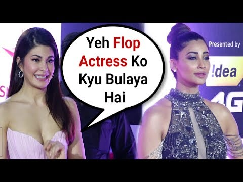 Jacqueline Fernandez Ignores Daisy Shah At Star Screen Awards 2018