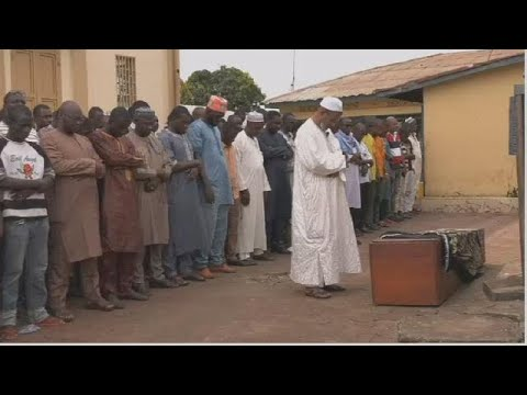 Guinea: funeral for protest victims