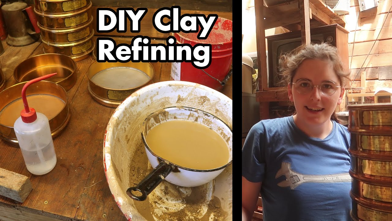 DIY Refining / Purifying Clay for Dorodango and Metal Casting Molds