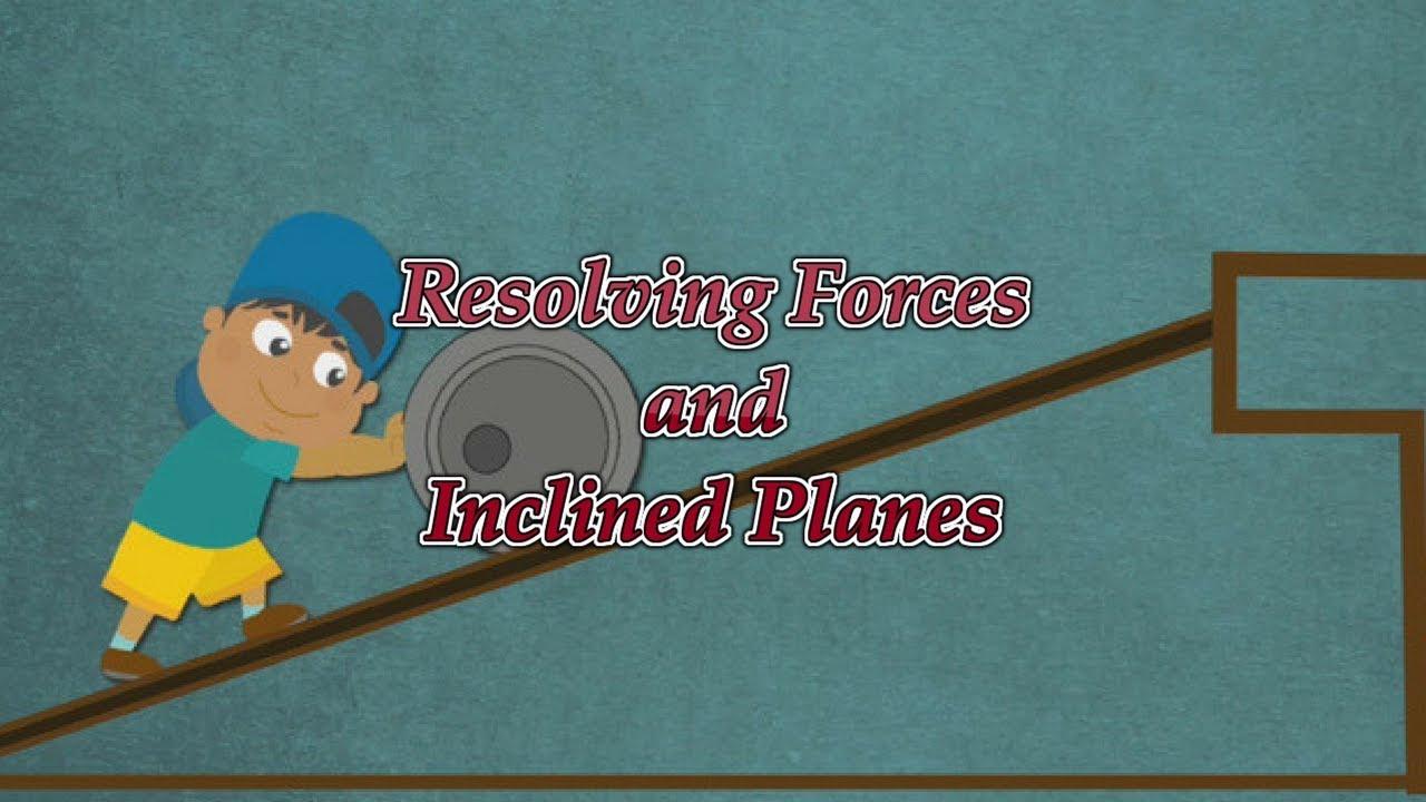 mechanics m1 resolving forces exercises