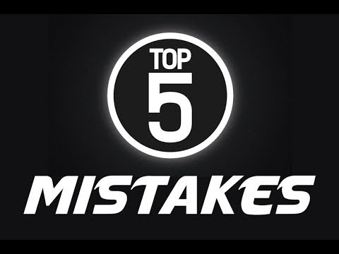 Top 5 Mistakes In Cryptocurrency Investing!!