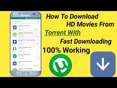Torrent||How To Download Full HD Movies From Torrent In 5 Min|| With Fast Downloading 100% Working.