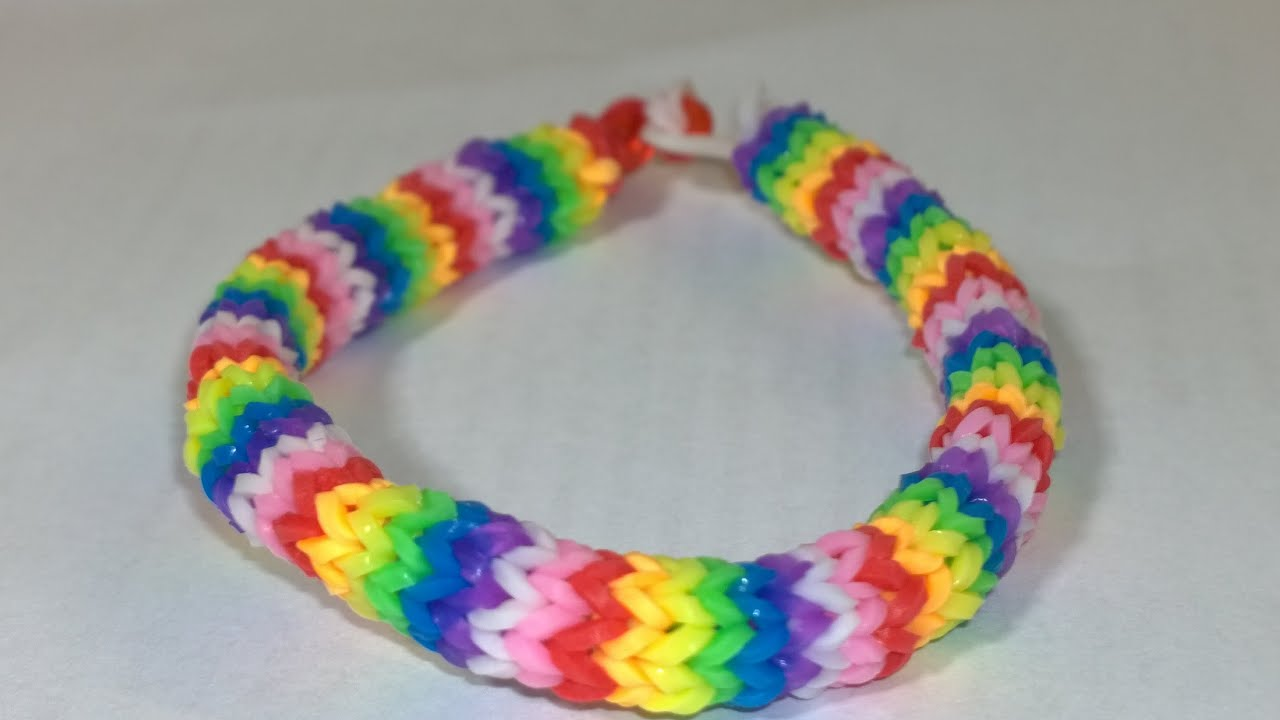 how to make easy rainbow loom hexafish 6 pin