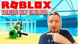 ¡K-BER ST-VSUGEREN! - Roblox Treasure Hunt Simulator Dansk Ep 2
