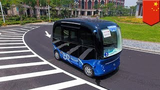 Self-driving buses to become a reality in China - TomoNews