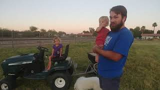 Planting Winter Rye Grass Pasture for Sustainable Agriculture