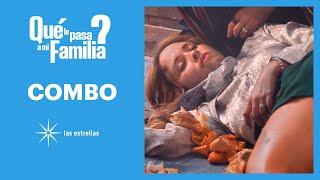 ¿Qué le pasa a mi familia?: ¡Cony sufre un accidente en la rosticería! | C-69 | Las Estrellas