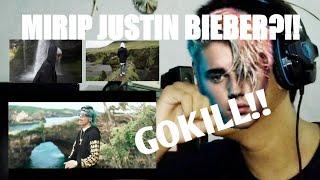 REACTION ATTA HALILINTAR GOD BLESS YOU!! MIRIP VIDEO CLIP JUSTIN BIEBER?!!