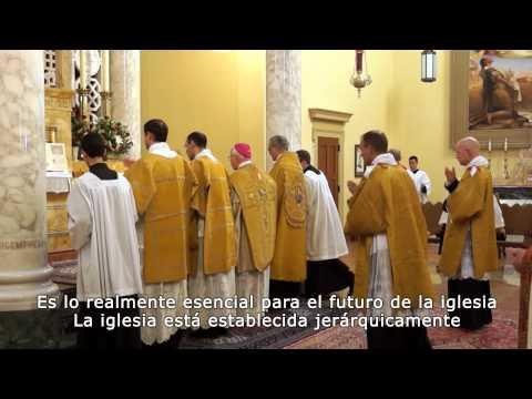 Fraternidad Sacerdotal de San Pedro -  Padre John Berg, superior general.