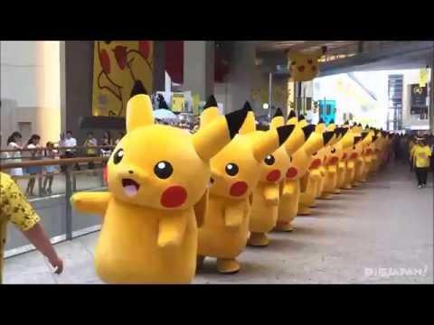 2016 Pikachu Outbreak! Pikachu Parade in Queen's Square