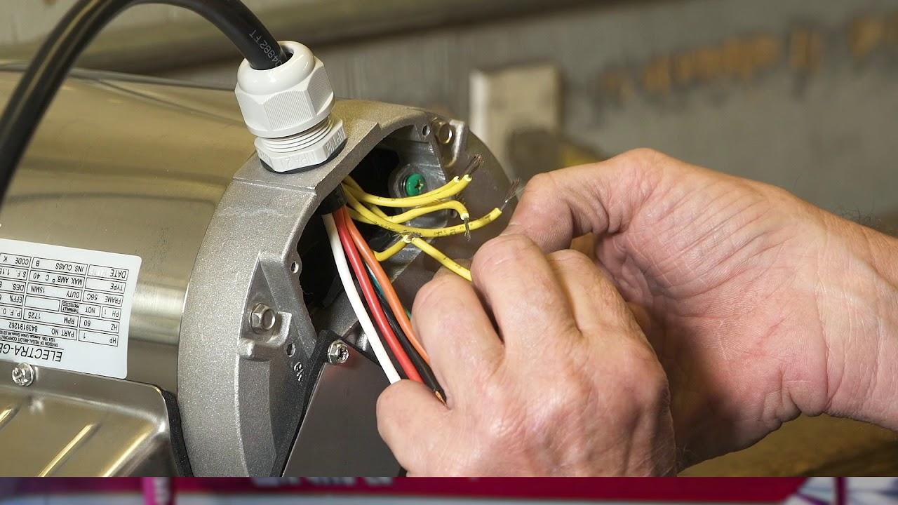 leeson electra gear motors c face boat lift motor 220v wiring [ 1280 x 720 Pixel ]