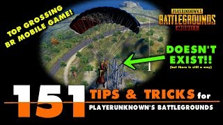 151 Tips and Tricks for PUBG Mobile!