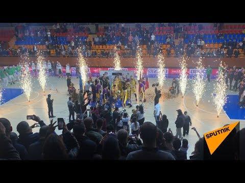 Армянские баскетболисты завоевали первый кубок ЕАЭС