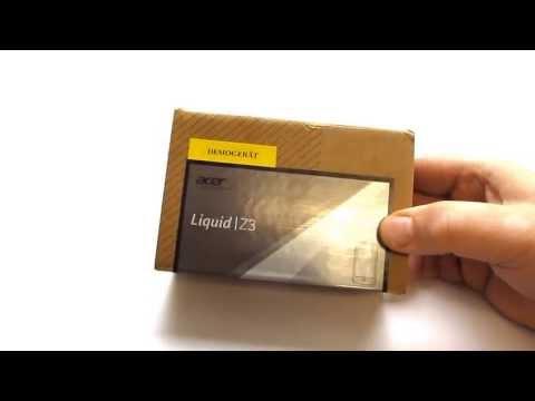 Acer Liquid Z3 Unboxing / Hands On Test - Deutsch / German ►► notebooksbilliger.de