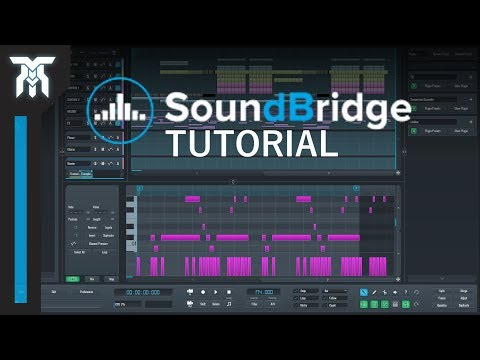SoundBridge DAW Tutorial For Beginners (FREE DAW 2018)