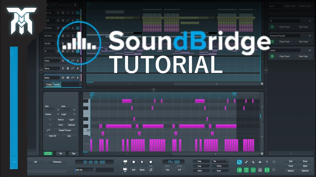SoundBridge DAW Tutorial For Beginners (FREE DAW)