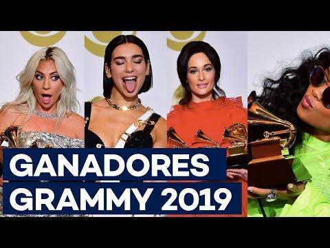 GRAMMY 2019: La lista de GANADORES de este año