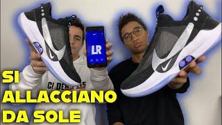 LE NIKE CHE SI ALLACCIANO DA SOLE + TEST APP || Nike ADAPT BB Recensione