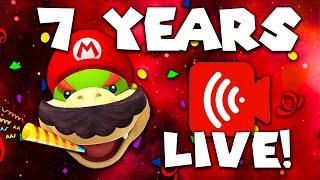 SuperMarioRichie 7 Year Anniversary - Live stream Q&A