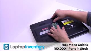 Sony Vaio VPCEH RAM Installation Replacement Guide - Memory Laptop Remove Replace Install